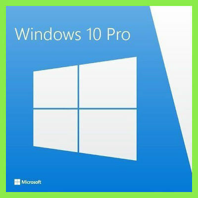 Windows 10 Pro Professional 32/64 Bit Product Key Licenza Full ESD