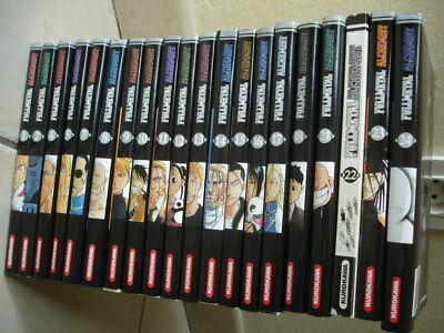 Collection  Mangas Full Metal Alchemist : 20 Tomes