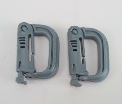 ITW Nexus GrimLoc D-Ring Locking Carabiner Foliage Green  MOLLE Made in USA 2 Pa