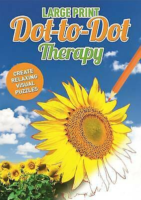 Large Print Dot to Dot Therapy - 9781784283698