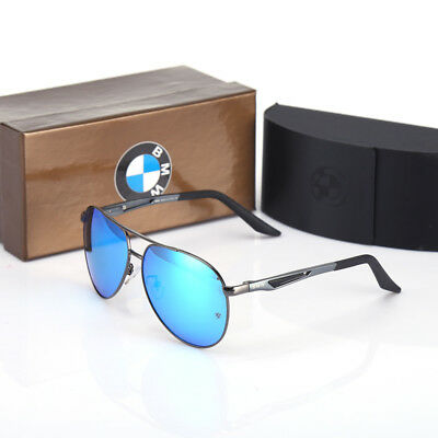BMW Brand Men's Sunglasses Polarized Classic UV400 Men Glasses Brand Box LX56