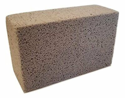 Natural Pumice Stone BBQ Grill Flat Top Griddle Non-Slip Grip Cleaning Block