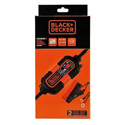 BLACK + DECKER BD 0690103 BDV090 Battery Charging and Charging Maintainer, 6 V a