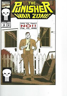 The Punisher War Zone  # 14  NM  9.4   (1992 series)