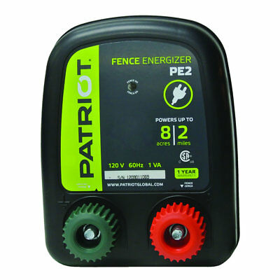 Patriot - PE2 Fence Energizer - 0.10 Joule for electric fence