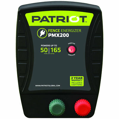 Patriot - PMX200 Fence Energizer - 2.0 Joule for electric fence