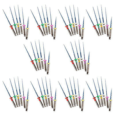 60 Pcs Dental Endodontic Rotary Universal Endo Motor Root Canal NiTi Files 25MM