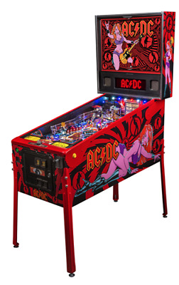 Flipper AC/DC Lucy Vault Edition OVP