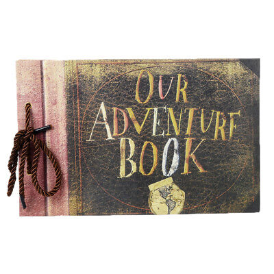 Our Adventure Book Photo Album DIY Scrapbook Retro Wedding Anniversary Albums