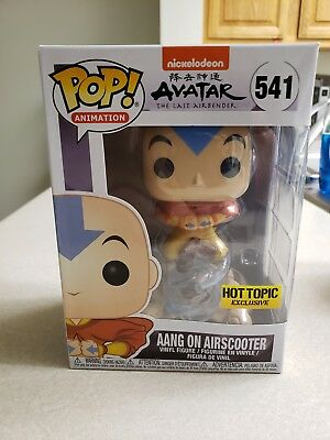 Funko Pop! Aang On Airscooter Avatar The Last Airbender Hot Topic Exclusive!