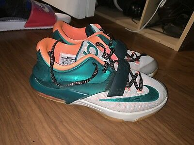 24199dede710 Nike Shoes Kd 7 Electric Eel Color Blue Size 65 in 2019