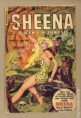 Sheena Queen of the Jungle (Fiction House) #18 1953 GD 2.0
