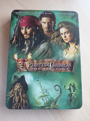 Pirates of the Caribbean Dead Man's Chest 2-disc COLLECTOR'S TIN PAL