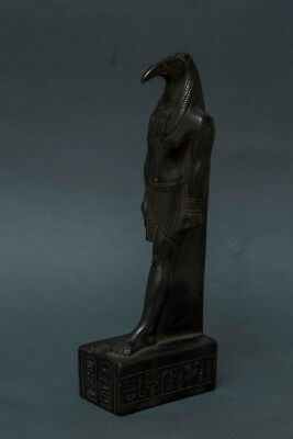 Rare EGYPTIAN ANTIQUE STATUE God THOTH GODS ANCIENT EGYPT Carved Stone 3150 BC