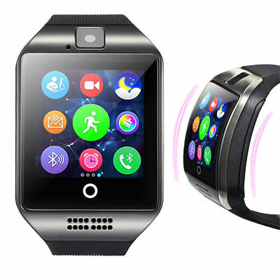 Q18 Bluetooth Pedometer Smart Watch Anti-lost Wristwatch Camera For iPhone X 8 7