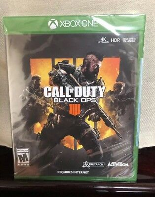 Call of Duty: Black Ops 4 Xbox One ( Still Sealed )
