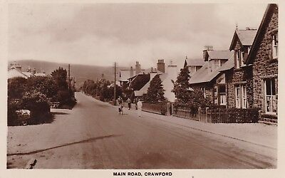 Crawford Village, Main Road - Real Photo By Fordyce 1936