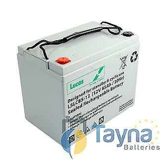 LSLC85-12 Lucas Sealed Batterie 12V 85Ah