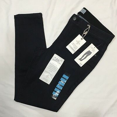 """DEMOCRACY Artisan Crafted """"Ab"""" Technology Jegging Sz 12 Booty Lift Blue Jeans"""