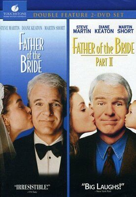 NEW Father of the Bride I 1991 & II 1995 ParT 1 & 2 (DVD 2 Disc Set)Steve Martin