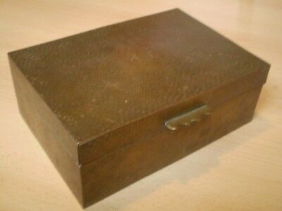 Stunning Antique/vintage Large Sized Brass Chinese Box, Ideal Jewellery Box ?