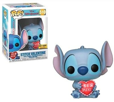 Funko Pop! Disney Lilo - STITCH VALENTINE #510 Hot Topic EXCLUSIVE Pre-Order!