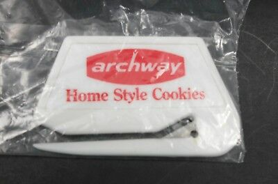 Archway Homestyle Cookies Advertising Letter Opener / Fridge Magnet