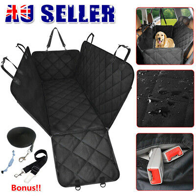 Premium Waterproof Pet Dog Cat Back Car Seat Cover Hammock NonSlip Protector Mat