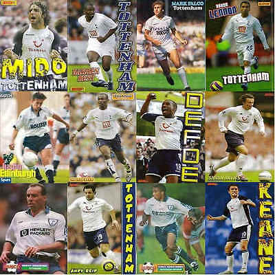 Match Football Magazine Pictures Tottenham Hotspur - Various Players