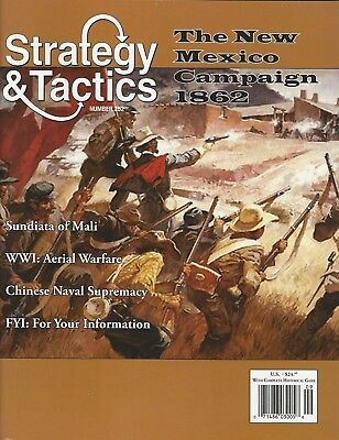 Strategy & Tactics S&T#252 The Civil War New Mexico Campaign 1862 Unpunched FS