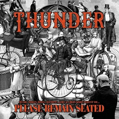 Thunder - Please Remain Seated (Ltd.Colored Edition) Vinyl LP (2) Bmg Right NEW