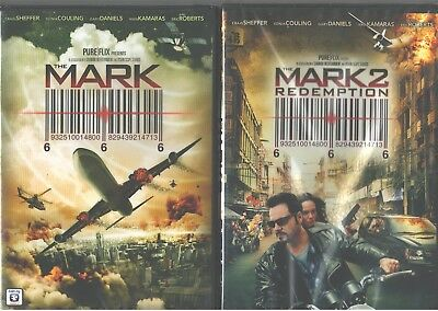 MARK, THE 1-2: Redemption-Christian Faith- Craig Sheffer+Eric Roberts- NEW 2 DVD