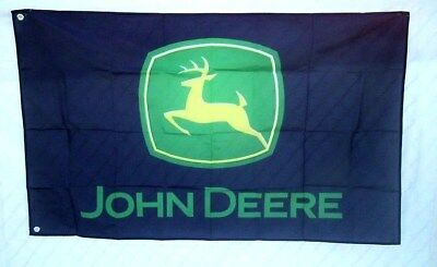 John Deere Tractor 3' X 5' Polyester Flag Banner Man Cave Bar Shop NEW # 159