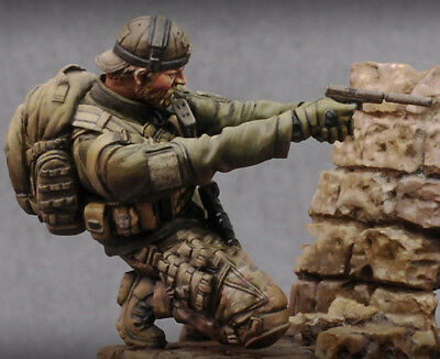 1:24 75mm resin figure model kit US Military Special force Unassambled Unpainted