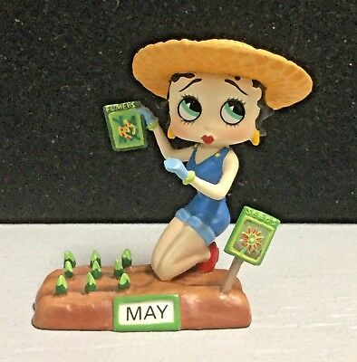 """Betty Boop Calendar Figurine """"May"""" The Danbury Mint King Feature Syndicate"""