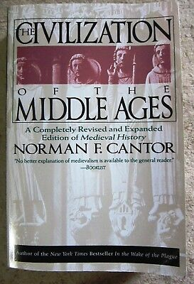 Civilization of the Middle Ages by Norman F. Cantor & Nor Cantor 1994 paperback