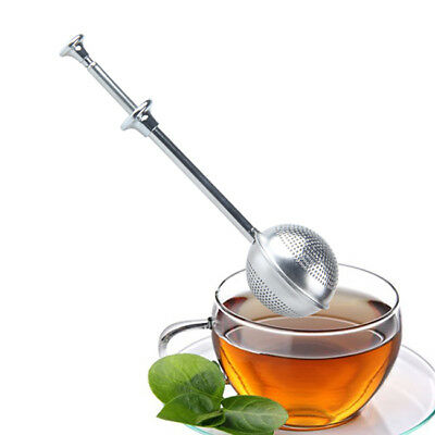 Tea Infuser/Strainer Leaves Herb Spice Ball Stainless Steel Infuser Filter YO