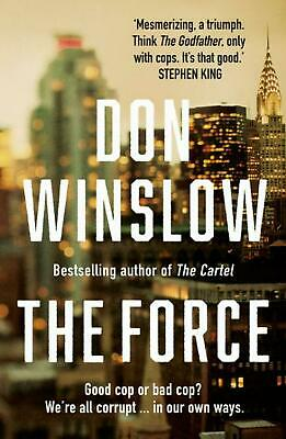 The Force by Don Winslow Paperback Book Free Shipping!