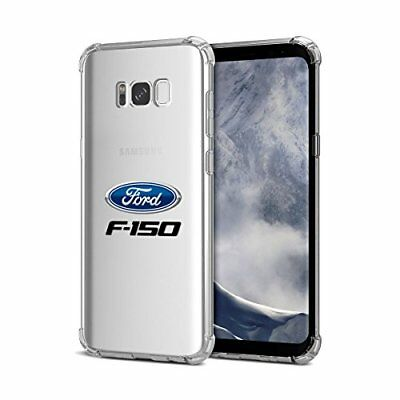 Samsung Galaxy S8 plus Case, Ford F-150 Clear TPU Shockproof Cell Phone Case