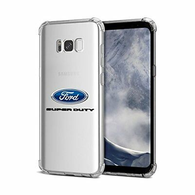 Samsung Galaxy S8 Case, Ford Super Duty Clear TPU Shockproof Cell Phone Case