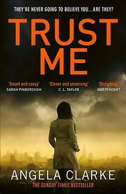 Trust Me by Angela Clarke Paperback Book Free Shipping!