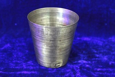 Rare Antique Old Vintage Brass Lassi Glass Made in Germany Collectible PS3