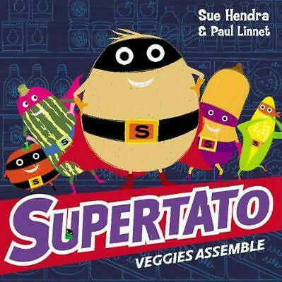 Supertato Veggies Assemble by Sue Hendra (English) Paperback Book Free Shipping!