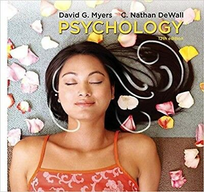 Psychology 12th edition by David Myers, C. Nathan Dewall Loose-leaf