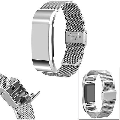 For Fitbit Charge 2 Replacement Wristband Strap Stainless Steel Wrist Bracelet