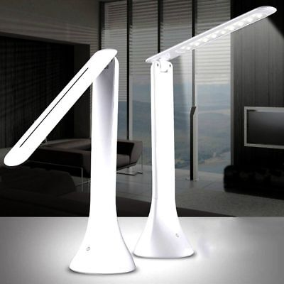Foldable Rechargeable Touch Dimming LED Desk Lamp Table Dimmable Reading Light U