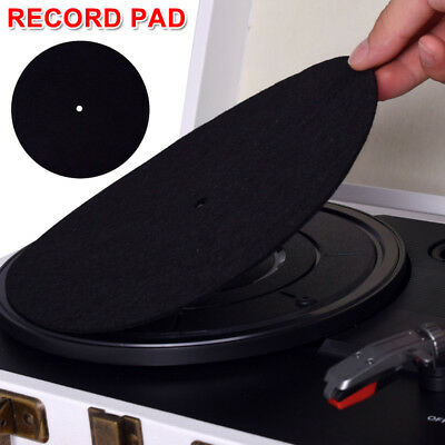 Anti-static Turntable Record Mat Non-slip Phonographs Flat Soft Record Slipmat