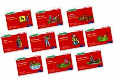 Read Write Inc. Phonics: Red Ditty Books Mixed Pack of 10 by Gill Munton...