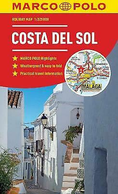 Costa Del Sol Marco Polo Holiday Map - pocket size, easy fold... - 9783829770316