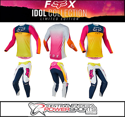 Fox Racing 2019 Limited Edition Flexair Idol Jersey Pants Combo Adult Multicolor